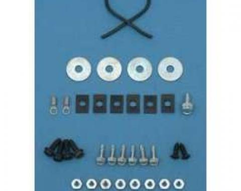 Camaro Console Gauge Mounting Hardware Kit, 1968-1969