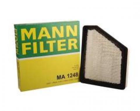 Camaro Air Filter, V6, V8, LS3, MANN-FILTER, 2010-2013