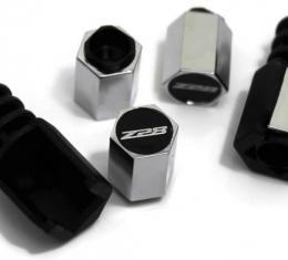 Camaro Valve Stem Caps Theft-Deterrent, Z28