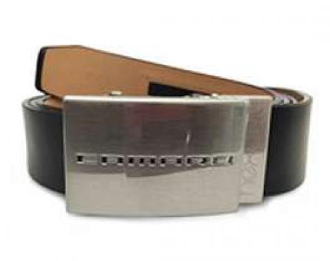 Camaro Nickel Plated Belt