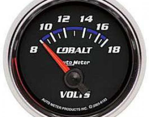 Camaro Voltmeter Gauge, Cobalt, AutoMeter