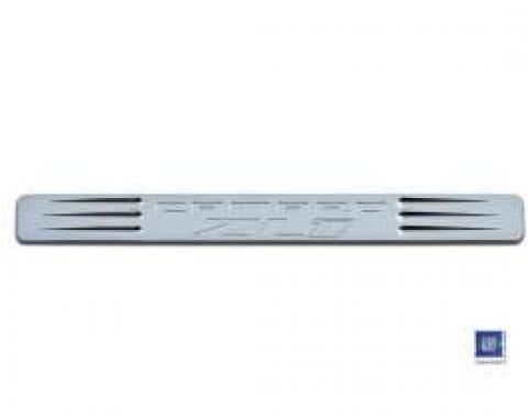 Camaro Door Sills, Chrome, ZL1 Logo, 2010-2013
