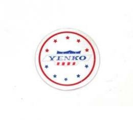 Camaro Wheel Ornament Decal, Yenko, 1967-1981