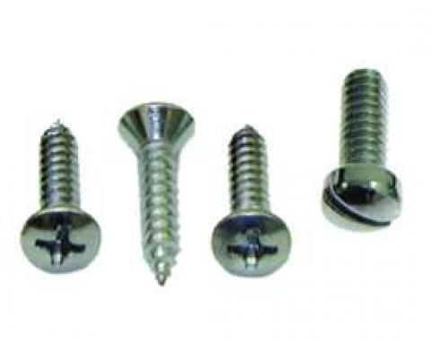 Camaro Sunvisor Support Screw Set, 1967-1969