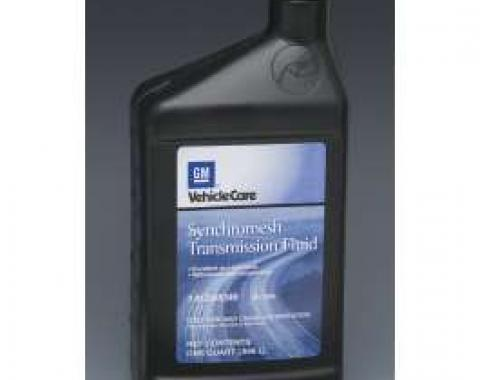 Camaro Manual Transmission Fluid, GM Synchromesh, 1967-1992