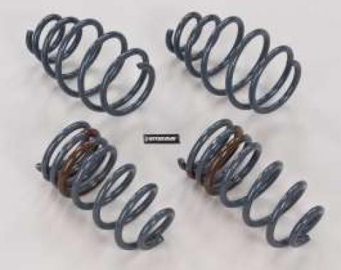 Camaro SS Convertible Coil Springs, Front & Rear, 1 Lowering, 2011-2013