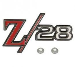 Camaro Taillight Panel Emblem, Z28, 1969