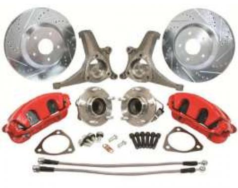 Camaro Brake Upgrade Kit, C5 Corvette Style, 1970-1981
