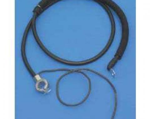 "Camaro Battery Cable, Negative, Top Post, 30"", 1970-1981"