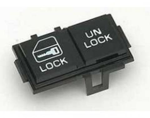 Camaro Door Lock Switch, Left, 1982-1989