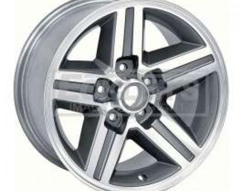 Camaro IROC-Z Aluminum Rear Wheel, 16x8, 4 1/4 Backspace, 1987-1990