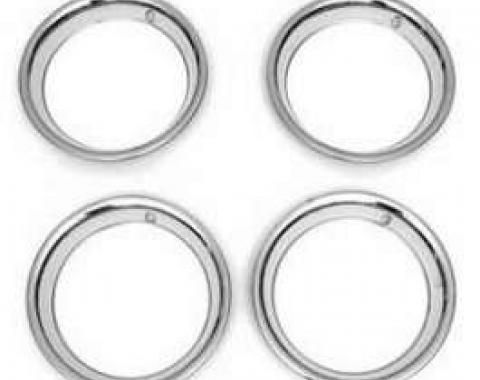 Camaro Trim Rings,15 X 7, Z/28 Steel Wheel, 1970-1981