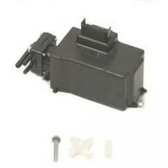 Camaro Windshield Washer Pump Assembly, With Black Nozzles,1967-1974