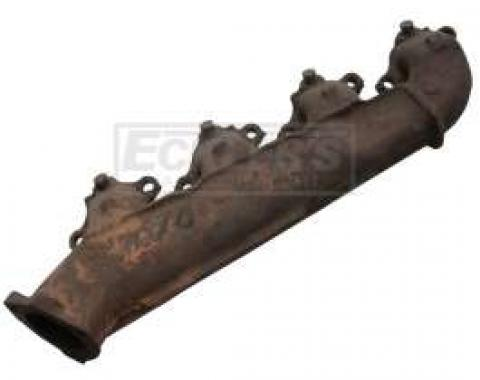 Camaro Exhaust Manifold, Big Block, With Smog Fittings, Right, 1968-1969