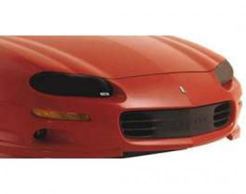 Camaro Headlight Covers, Carbon Fiber Design, 1998-2002
