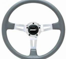 Camaro Steering Wheel, Gray, Collectors Edition, 1967-2002