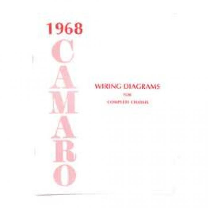 Camaro Wiring Diagram Manual, 1968