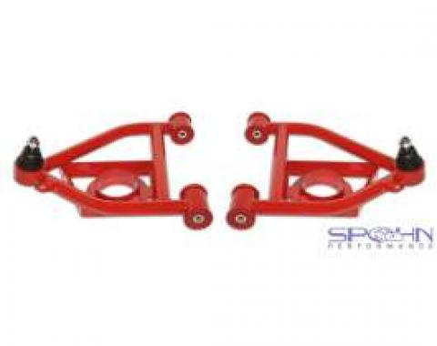 Camaro Lower Tubular Control Arms, With Bushings, 1982-1992