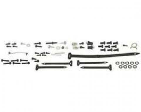 Camaro Air Conditioning Bolt & Hardware Kit, Firewall Forward, Complete, 1967