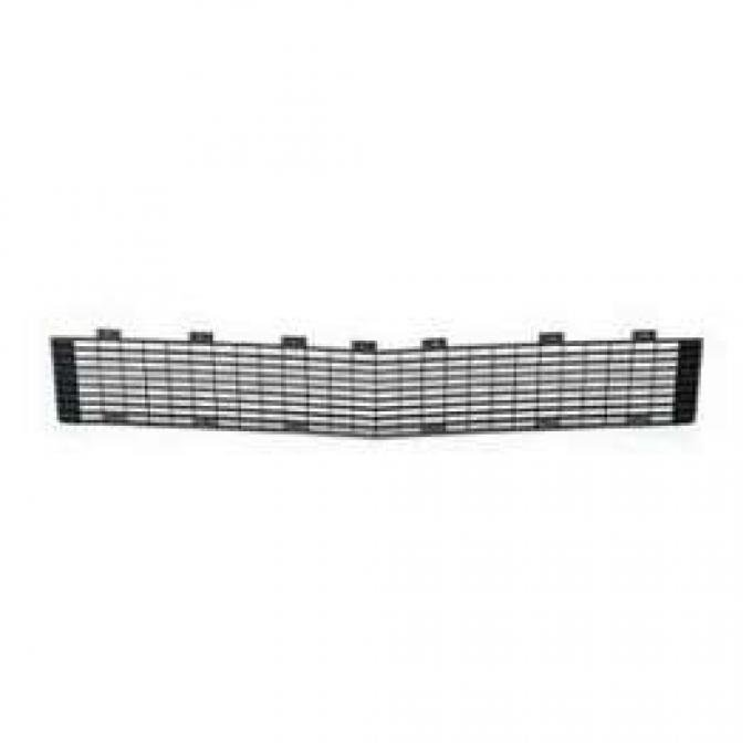 Camaro Center Grille, Black, Rally Sport (RS), GM, 1967-1968