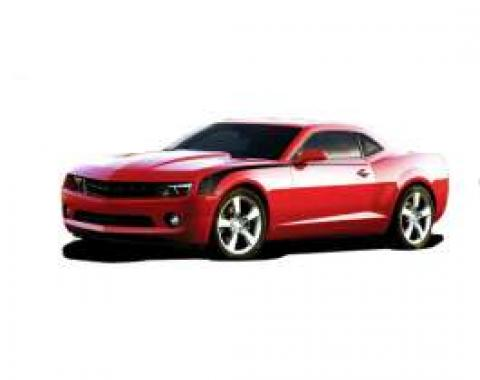 Camaro Hockey Stripe Kit, Gloss Black, 2010-2013