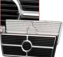 Camaro Brake Pedal Pad, For Cars With Automatic Transmission, Polished Aluminum, Billet Specialties, 1967-1969