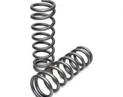 Camaro Coil Springs, 327ci, Coupe, For Cars With Powerglide Automatic Or 4-Speed Manual Transmission, 1968