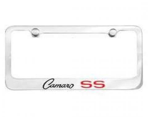 Camaro License Plate Frame, SS, 1968-1969