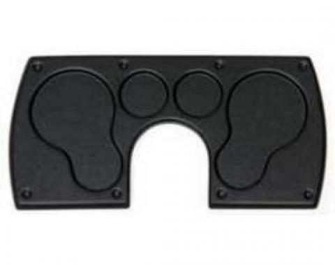Camaro Dash Panel, With No Holes, Black, 1982-1989