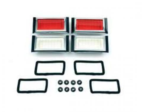 Camaro Side Marker Light Kit, With Gaskets & Mounting Nuts,1968