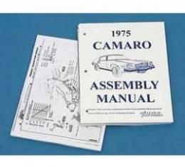 Camaro Assembly Manual, 1975