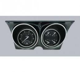 Camaro Updated Gauge Kit, With Black Dials & White Numbers/Needles, Classic Instruments, 1967-1968