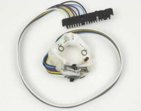Camaro Turn Signal Switch Assembly, For Cars With Column Shift, 1967-1968