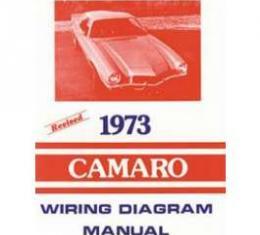 Camaro Wiring Diagram Manual, 1973