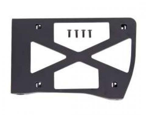Camaro Headlight Door Cover Backing Plate, Left, Rally Sport (RS), 1967-1968
