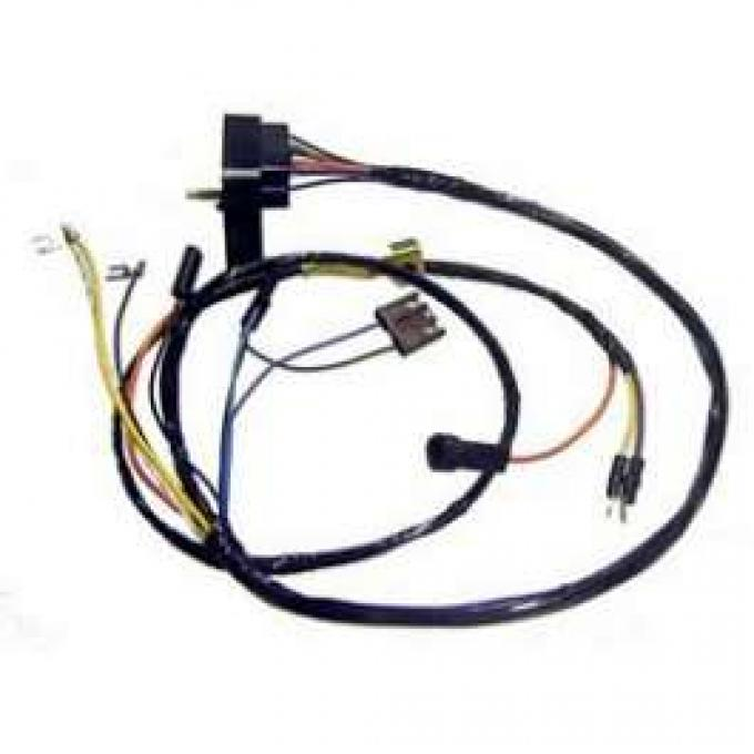 Camaro Engine Wiring Harness, All V8, For Cars With Gauges,1969