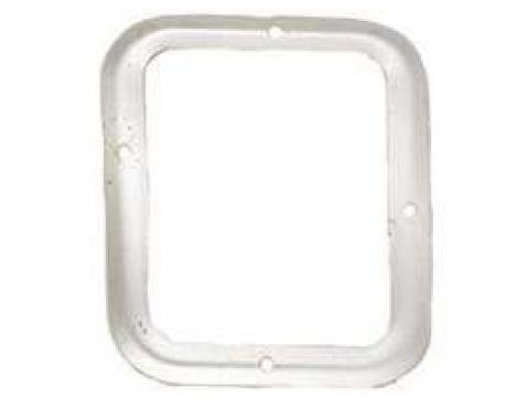 Camaro Shifter Boot Retainer Plate, Manual Transmission, For Cars With Console, 1967-1968