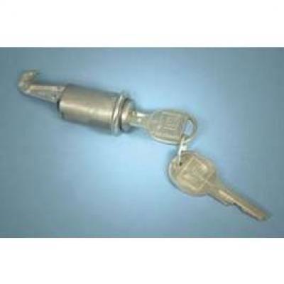 Camaro Glove Box Lock, With Late Style Keys, 1967-1968