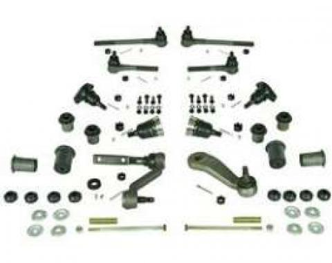 Camaro Suspension Rebuild Kit, Front, Major, For Cars With Quick Ratio Manual Steering, 1967