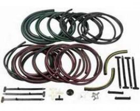 Camaro Headlight Door Vacuum Hose Kit, Rally Sport (RS), 1969