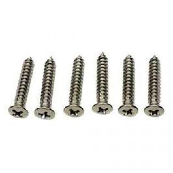 Camaro Headlight Bezel Mounting Screw Set, For Cars With Standard Trim (Non-Rally Sport), 1969
