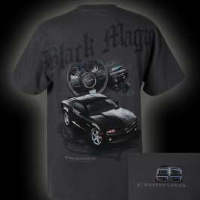 Camaro T-Shirt, Black Magic