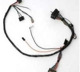 Camaro Dash Instrument Cluster Wiring Harness, With Warning Lights, 1972