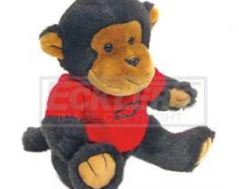 Chevy Themed Plush Stuffed Monkey