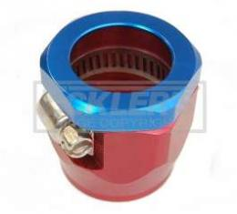 Camaro Heater Hose Clamp, Red/Blue, 5/8