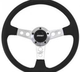 Camaro Steering Wheel, Black, Collectors Edition, 1967-2002