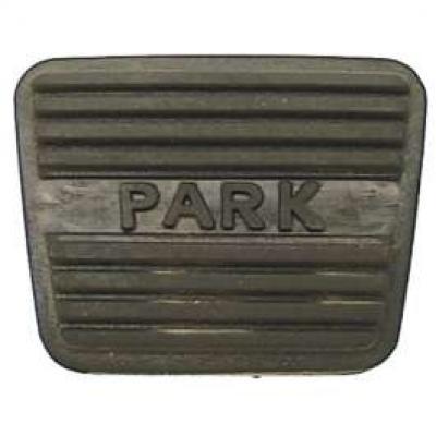 Camaro Parking Brake Pedal Pad, 1967-1968