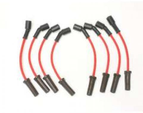 Camaro High Performance Flame Thrower Spark Plug Wires, Red, 2010-2013