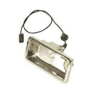 Camaro Back-Up Light Housing, Right, Rally Sport (RS), 1967-1968