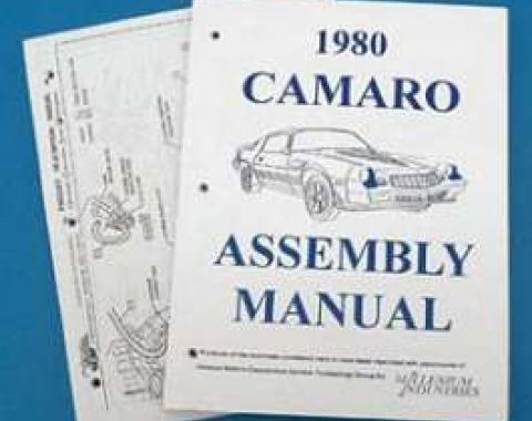 Camaro Assembly Manual, 1980